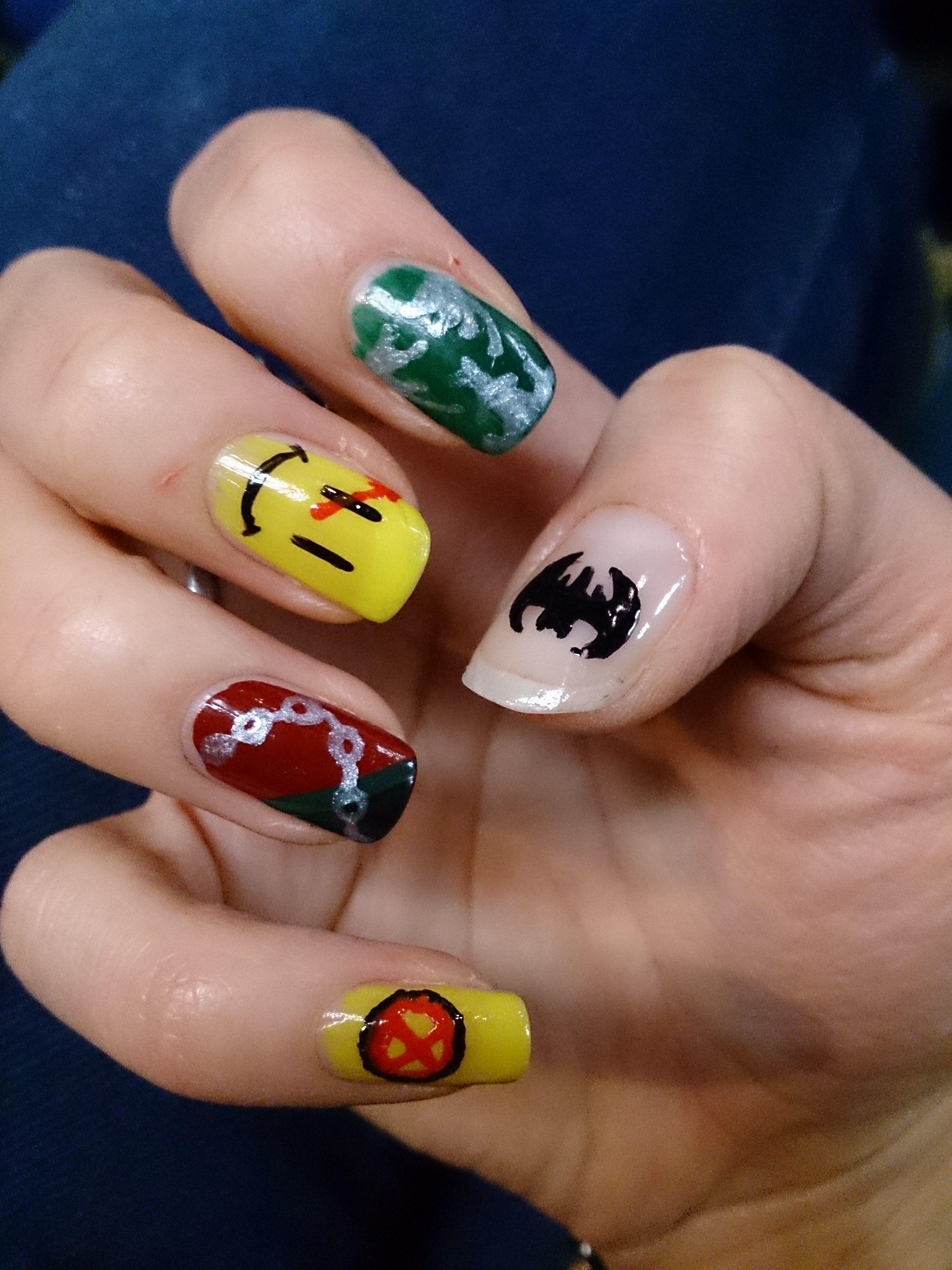 Comic-Con Nails; Batman, Witchblade, Watchmen, Spawn & X-men. | Nail ...