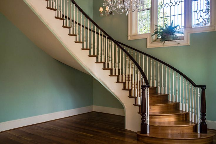 Nice Curved Staircase   Curved Stairs   Round Staircase