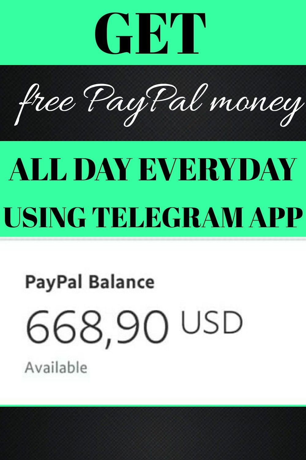 EARNING FREE PAYPAL MONEY in 2020 Paypal money adder