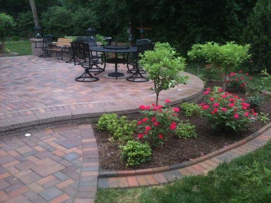 Landscaping Idea Around Patio