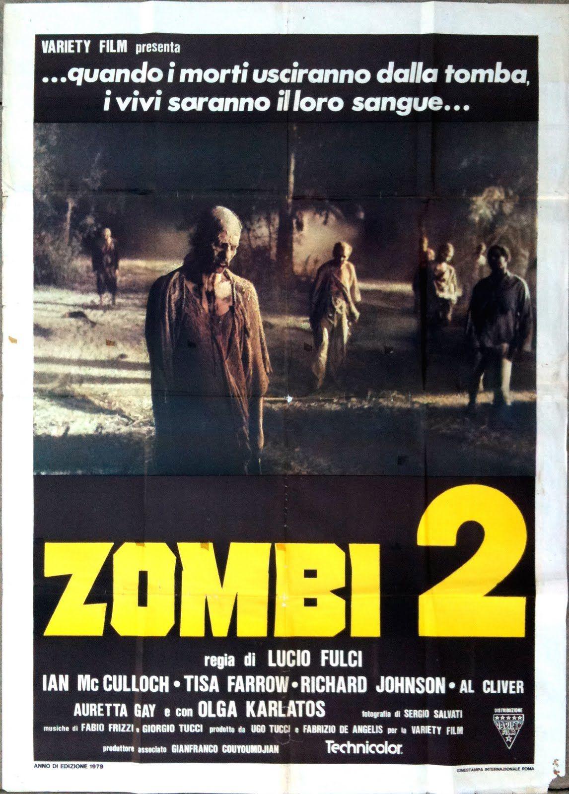 Zombi 2 (1979), the quintessential Italian zombie movie