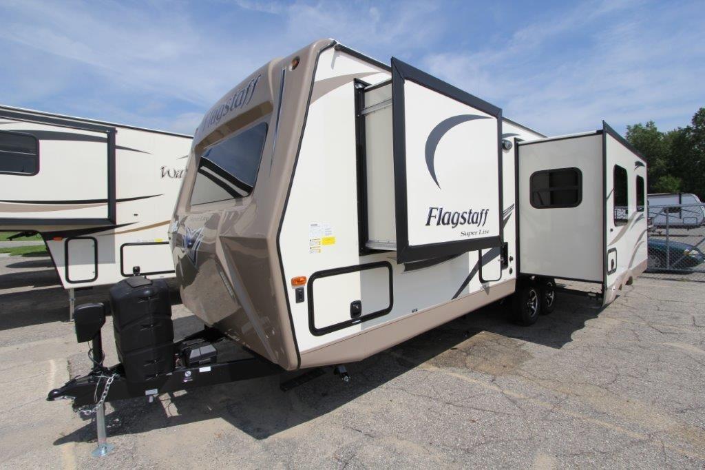Flagstaff Super Lite 26RLWS Travel Trailer Floor Plan
