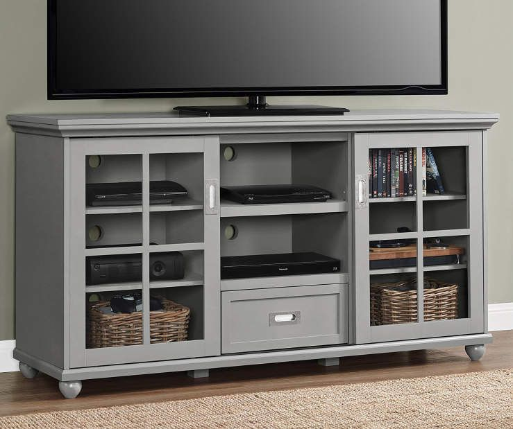 Ameriwood Gray Tv Stand Big Lots Grey Tv Stand 55 Inch Tv Stand White Tv Stands