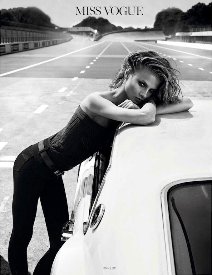 Anna Selezneva by Lachlan Bailey for Vogue Paris November 2012