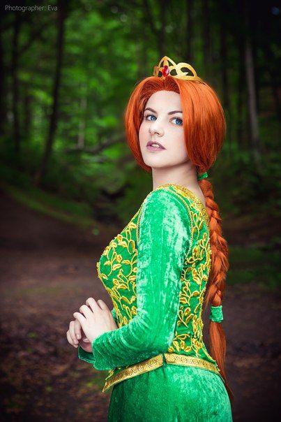 Fiona- Shrek, Cosplay by Evgenia Galkina, ЕVA - Cosplay-photo