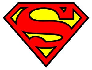 Superman Logo Image Vector Clip Art Online Royalty Free Public Domain