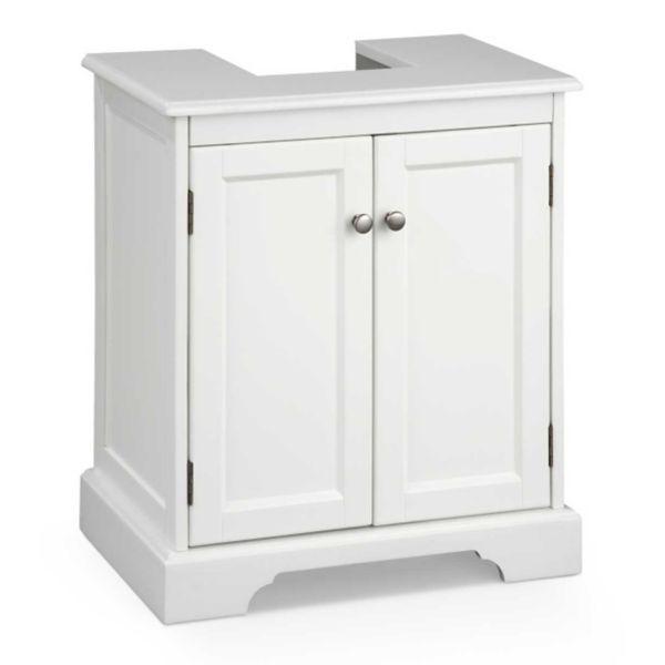 Weatherby Bathroom Pedestal Sink Storage Cabinet Awesome