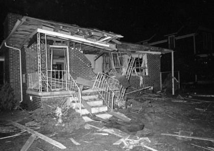 Dr Mlk Home Bombed In 1956 Let Us Not Forget Martin