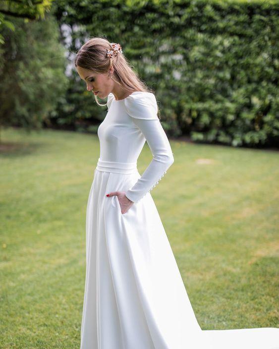 10 vestidos de novia que toda millennial querrá usar en su boda
