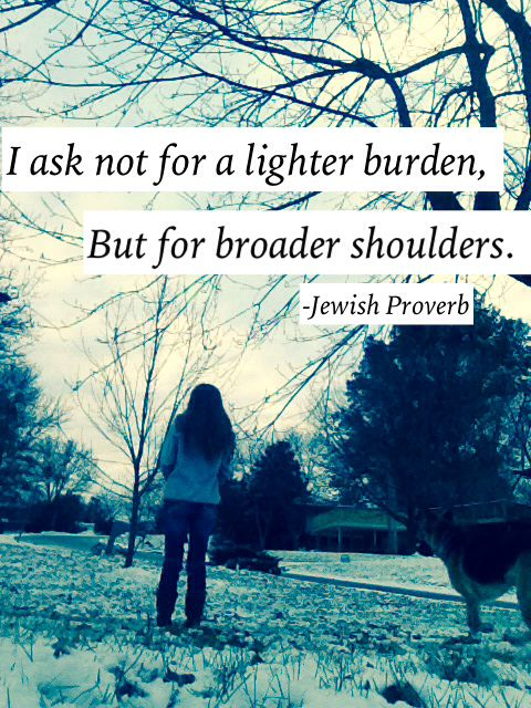 Winter And Quotes. Jewish Proverbs.