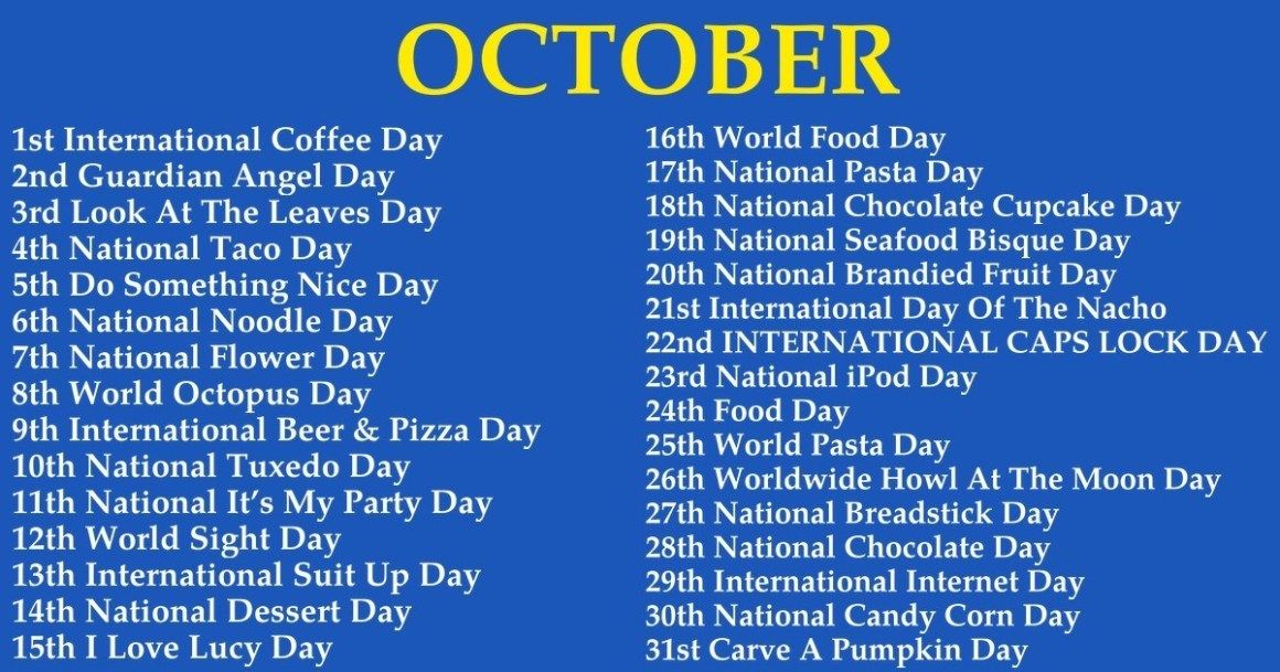 What Odd Strange Holiday Falls On Your Birthday In 2020 With Images Weird Holidays Wacky Holidays It S Your Birthday