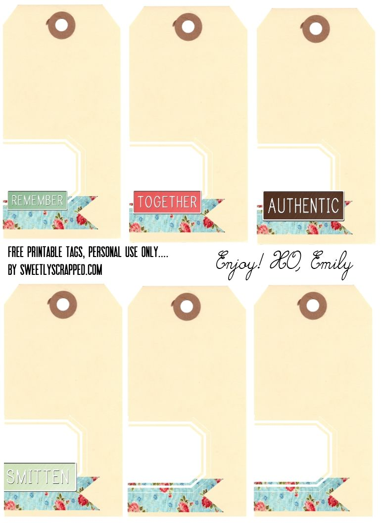 Free Printable Shipping Tags With Words And Plain Scrapbooking Paper Crafts