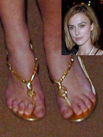 Toes Keira knightley