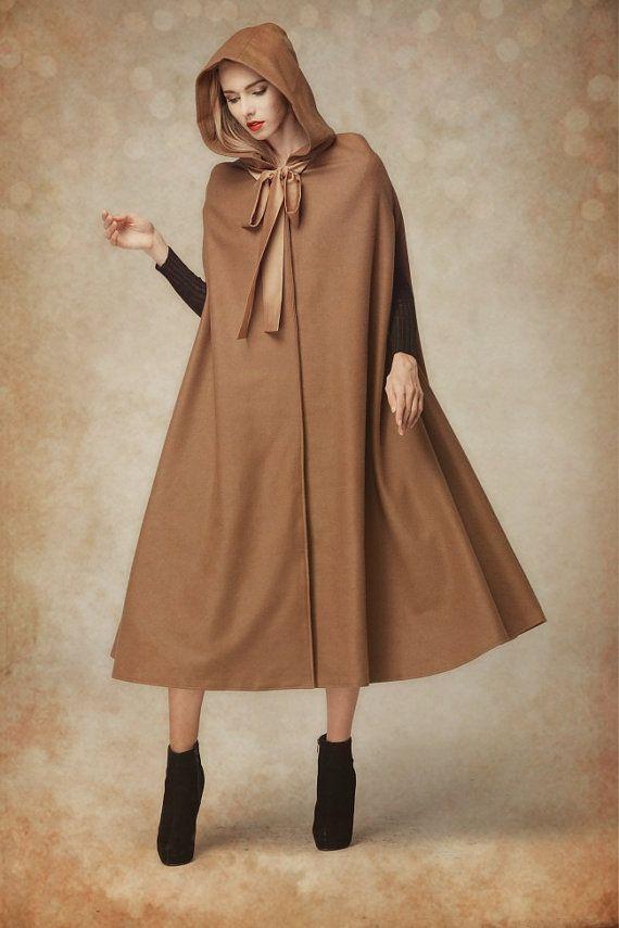 30f9041727f Wool Cloak Coat