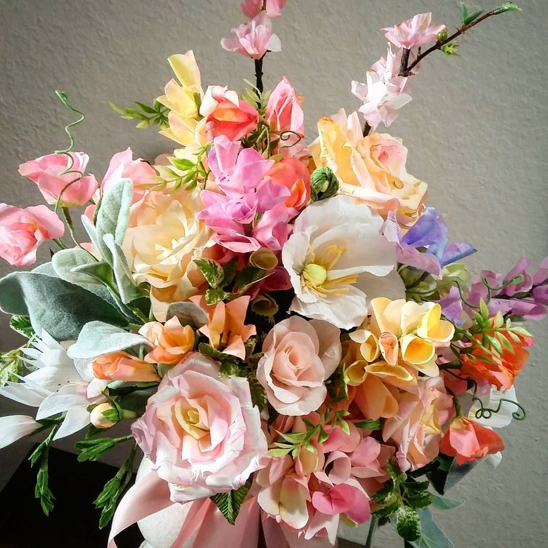 Gorgeous arrangement by Cafe Paperie Paper Art Studio cafepaperie