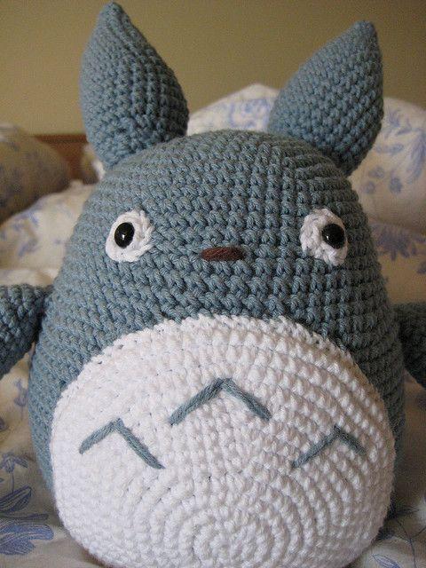 Amigurumi totoro totoro amigurumi patterns and crochet amigurumi totoro crochet i made this for my totoro loving boyfriend for our anniversary last saturday dt1010fo