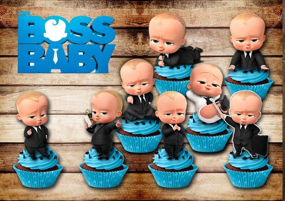picture regarding Boss Baby Printable titled 8 manager child printable manager little one centerpieces manager kid