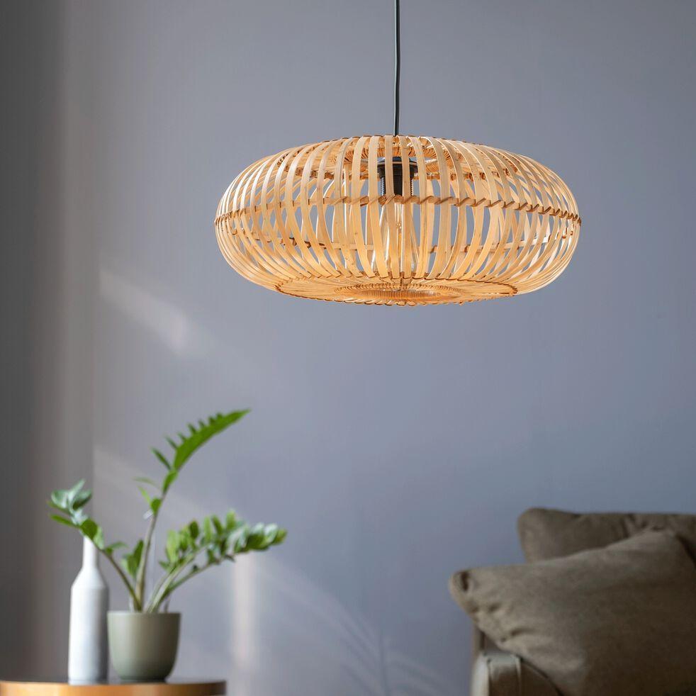 Suspension En Bambou D45xh18cm Eleana Suspension Non Electrifiee En 2020 Bambou Deco Chambre Bleu Deco