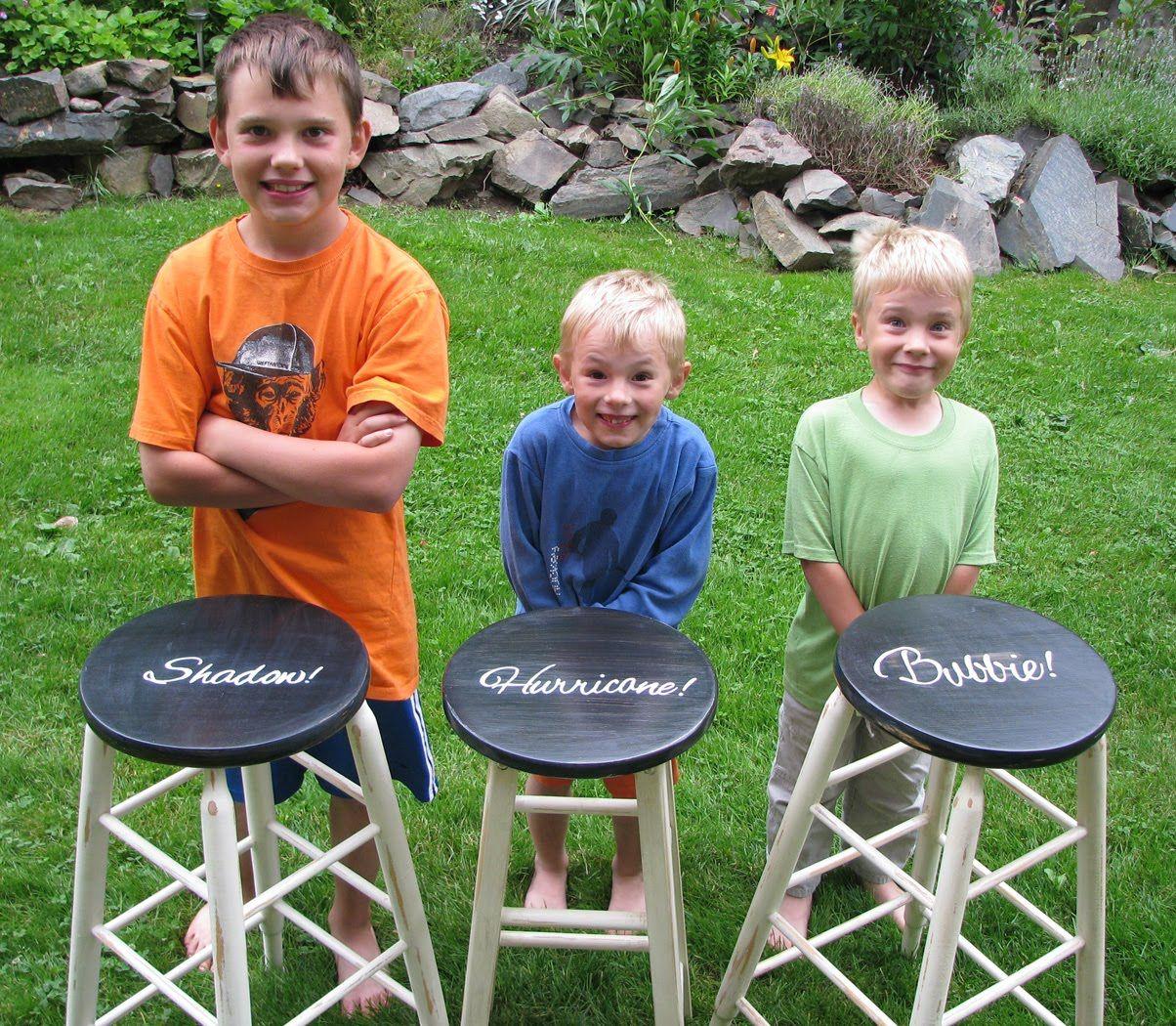 Named stools!