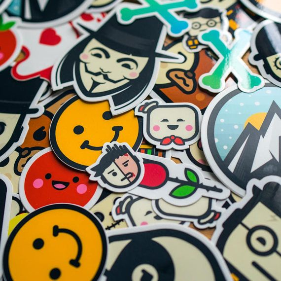 Full Collection Of STICKERS Cool Decal Stickers Vinyl - Custom vinyl laptop decals