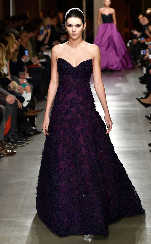 Elie Saab Fallwinter 2016 From Kendall Jenners Runway Shows