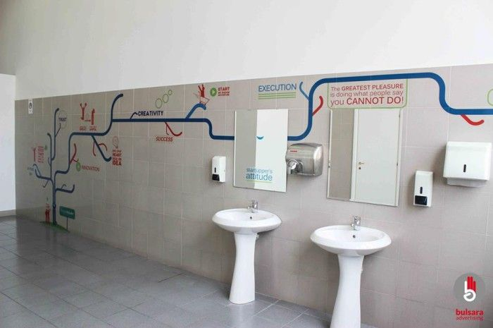 toilet / washroom advertising by Bulsara public #conveniences and ...