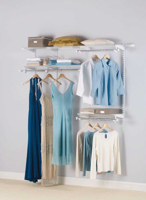 Amazon.com - Rubbermaid Configurations Custom Closet Deluxe Kit ...