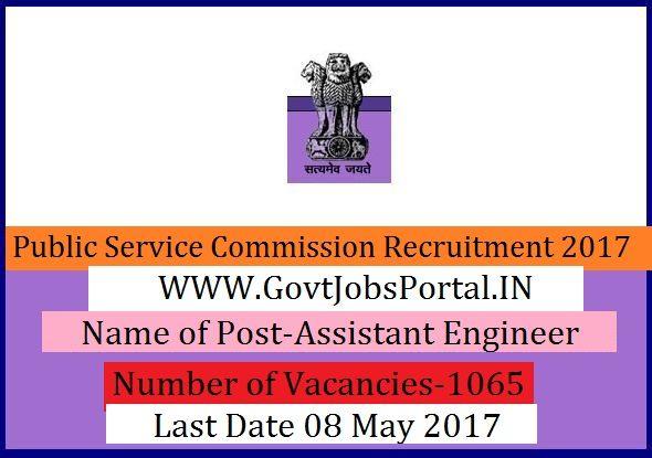 Public Service Commission Recruitment   Assistant