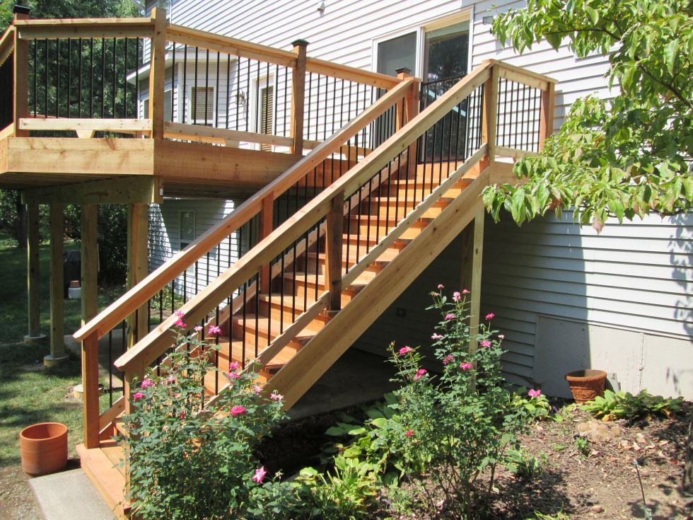 Best Deck Stairs Ideas How To Choose The Best Stair Design For 400 x 300