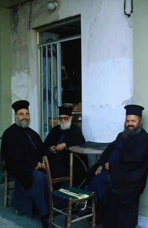 Greek priests , Rhodes