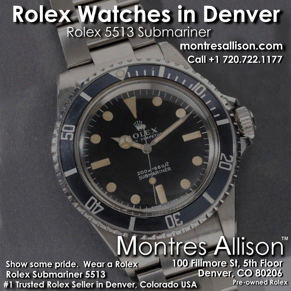 Rolex Denver Rolex Rolex Watches Rolex 5513