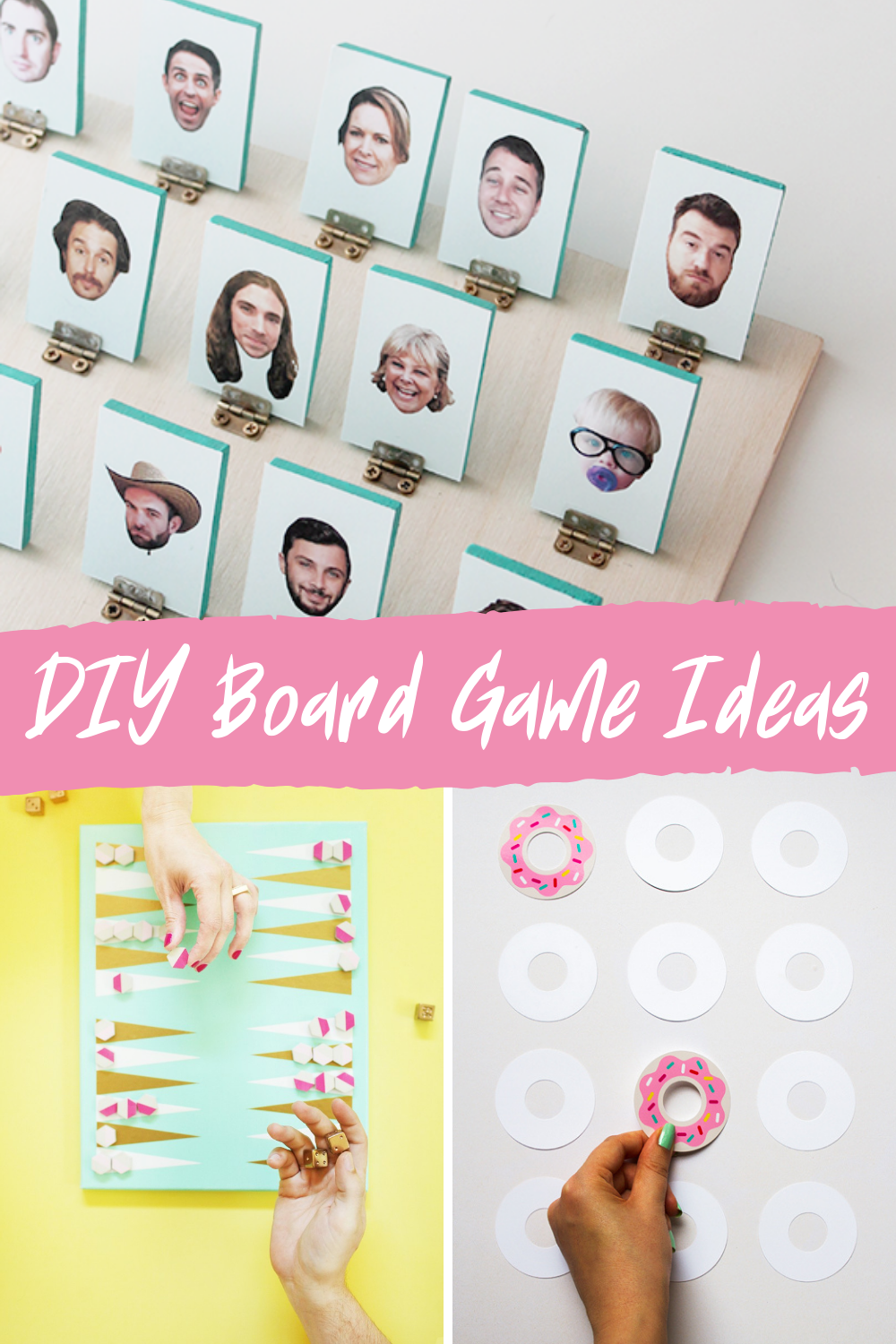 Create Fun With These Easy Diy Board Game Ideas Peachy Party In 2020 Board Games Diy Board Games Board Game Pieces