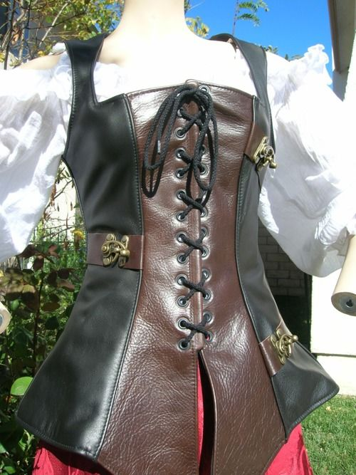Waistcoat with clasps — Pendragon Costumes