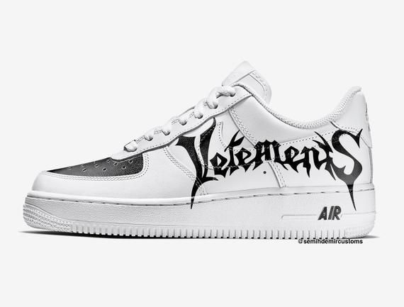 1c16e424e14 VETEMENTS Custom Nike Air Force one
