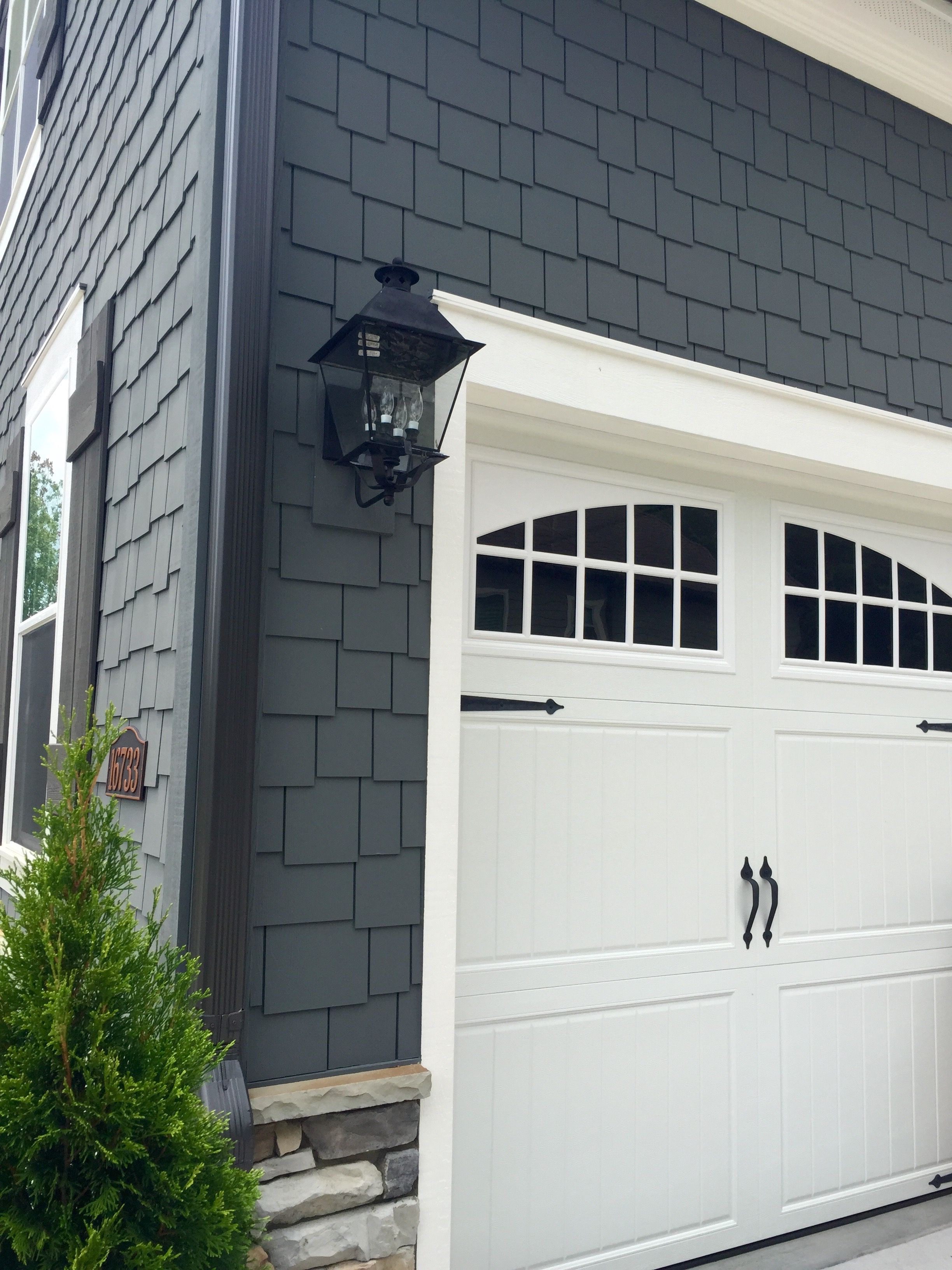 Garage door interior trim - Arh Exterior Plan Woodcliff Exterior 52 Roof Oc Oakridge Williamsburg Gray Metal