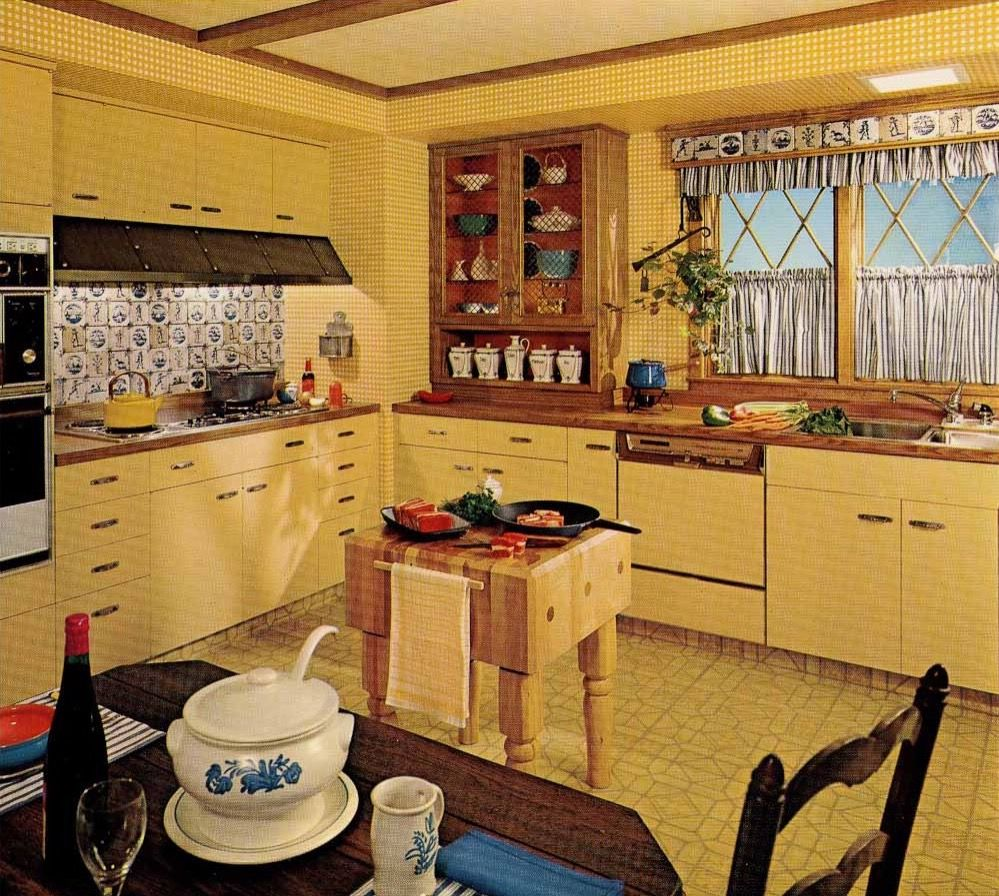 Pin von Sue Rutherford auf Mid Century Kitchens | Pinterest