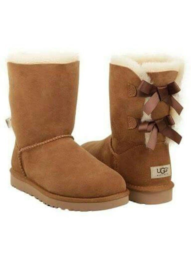 ugg bow leather boots boots in tube ugg boots ugg boots uggs rh pinterest com
