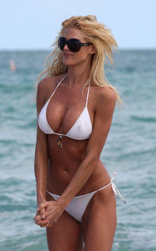 bikini babe White