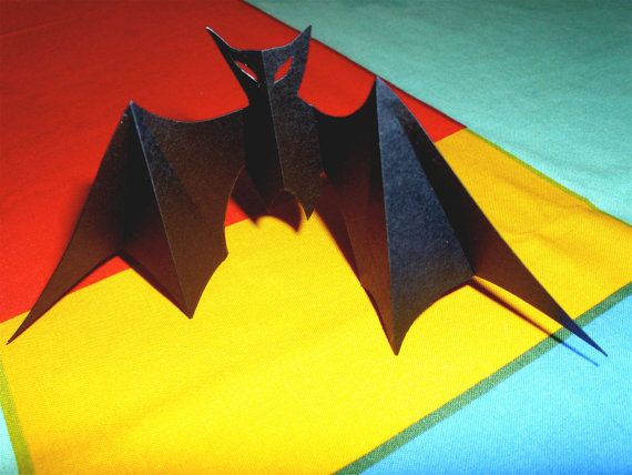 6 Pack of Bats by EvocativePhoto on Etsy, $6.50