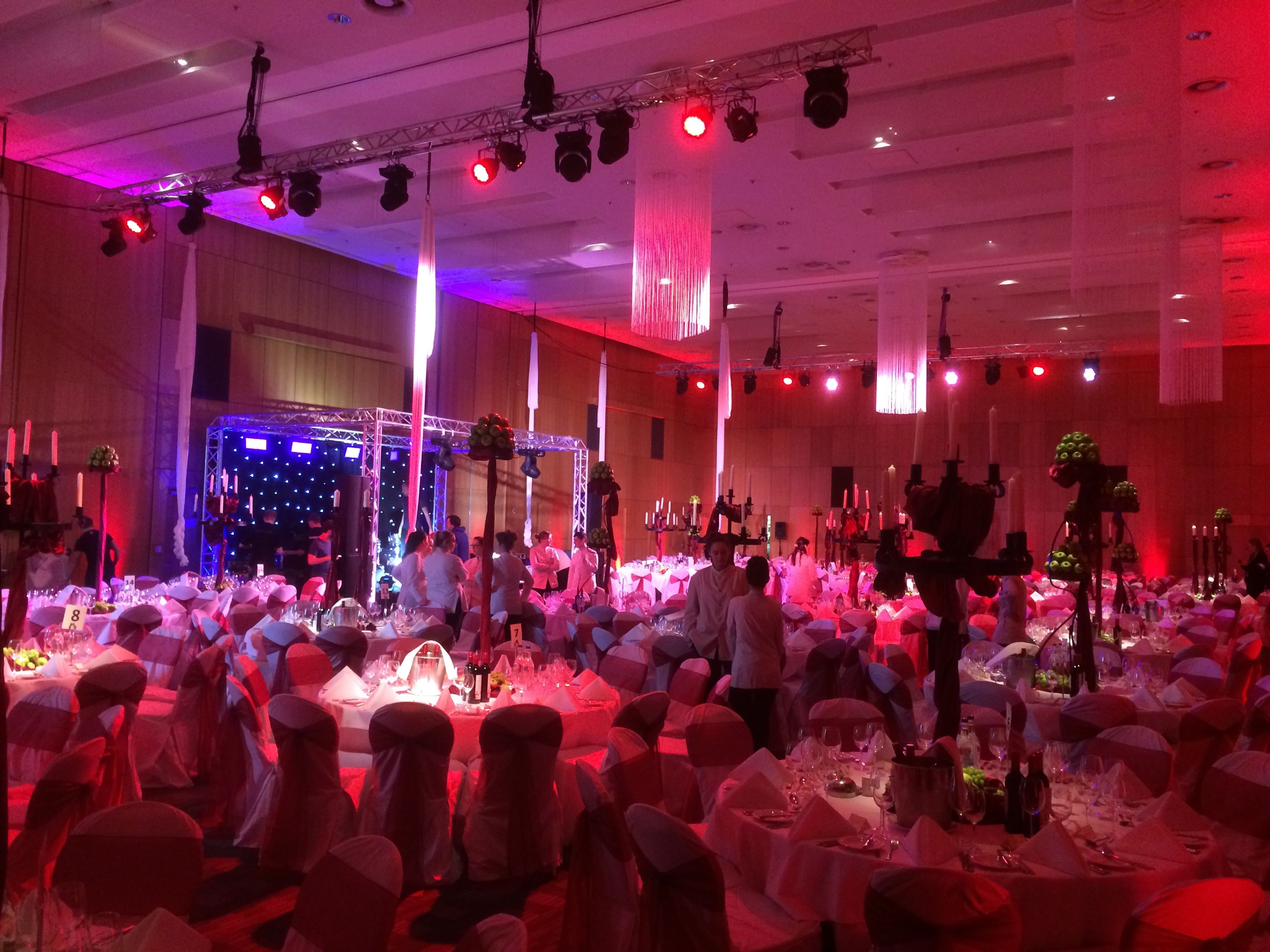 Event Lighting at Hilton Deansgate Manchester : lighting in manchester - azcodes.com