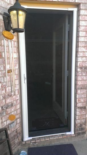 Odl 36 In X 78 In Brisa White Sliding Retractable Screen Door