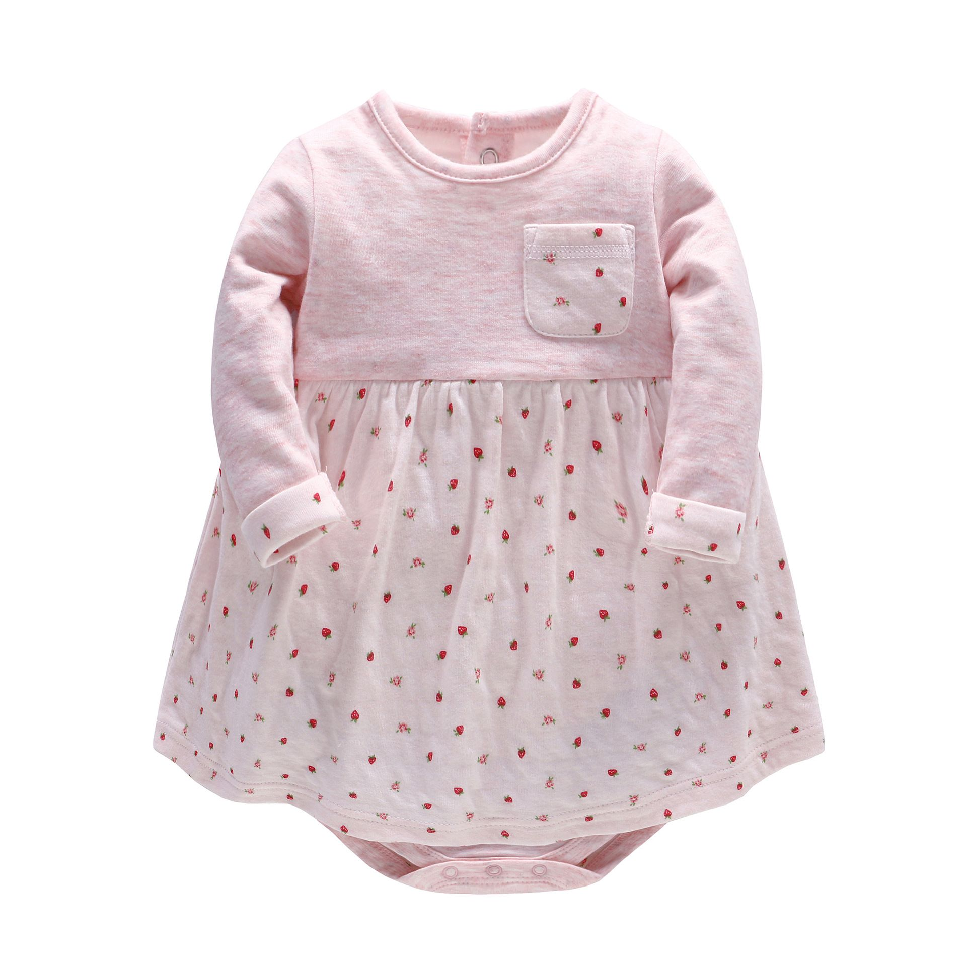 2017 New Fashion Baby Girl Dress Baby Spring Autumn Long sleeve