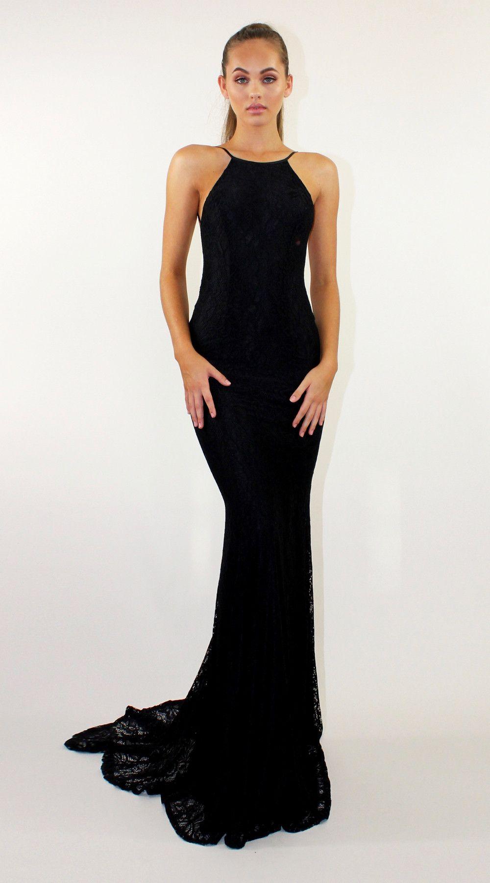 Reckless Black | evening gowns | Pinterest | Fishtail, Gowns and Prom