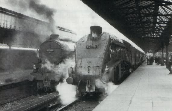 Buchanan Street Railway Station Glasgow 1965 Buchanan Street Night Train Glasgow