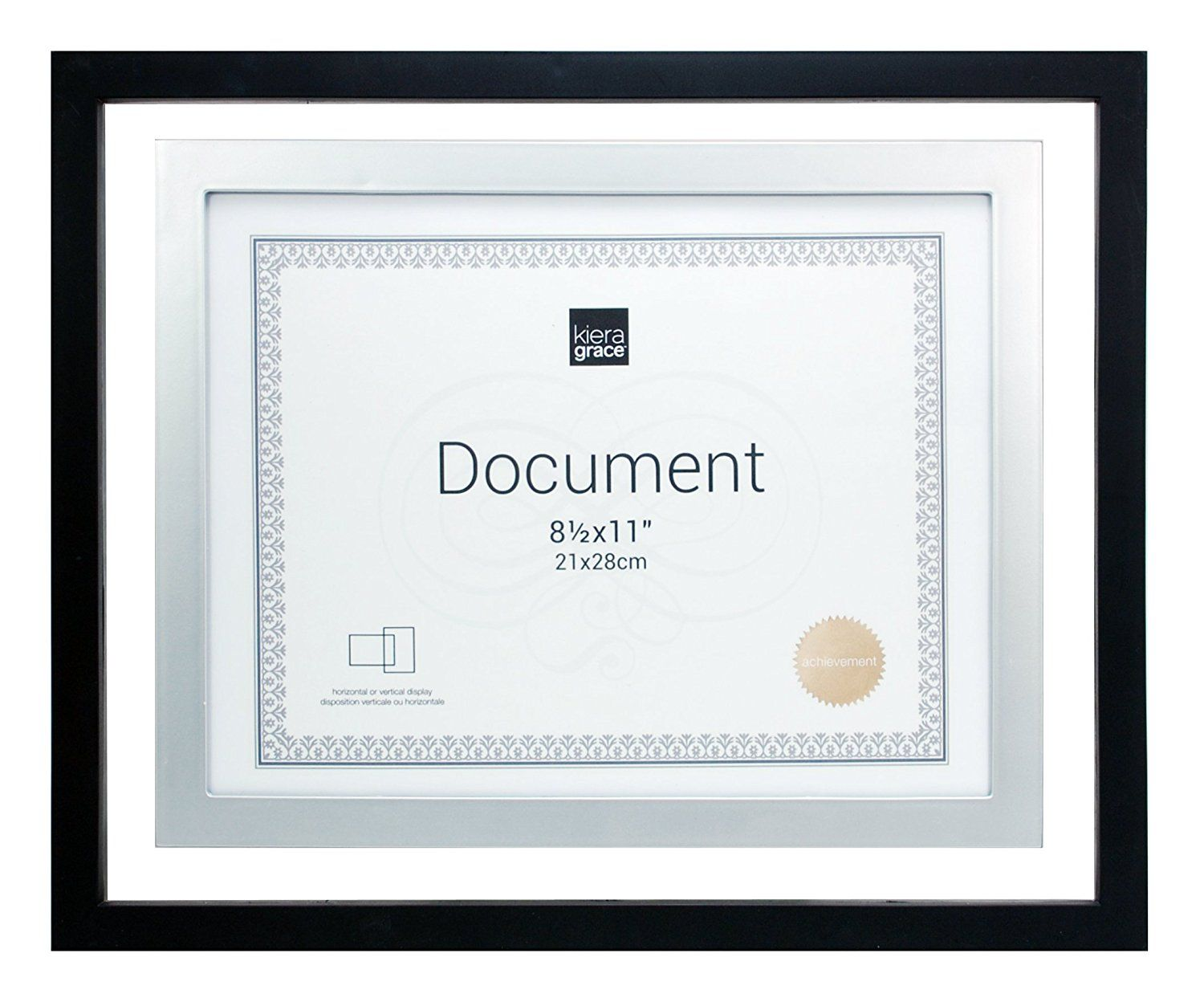 Kiera grace city document float frame 11 by 14 inch matted for explore picture frame sets find picture and more jeuxipadfo Images