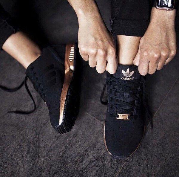 Adidas Noir & cuivre , #Adidas #cuivre #noir ...