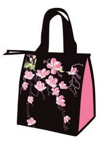 Insulated Lunch Bag Cherry Blossoms