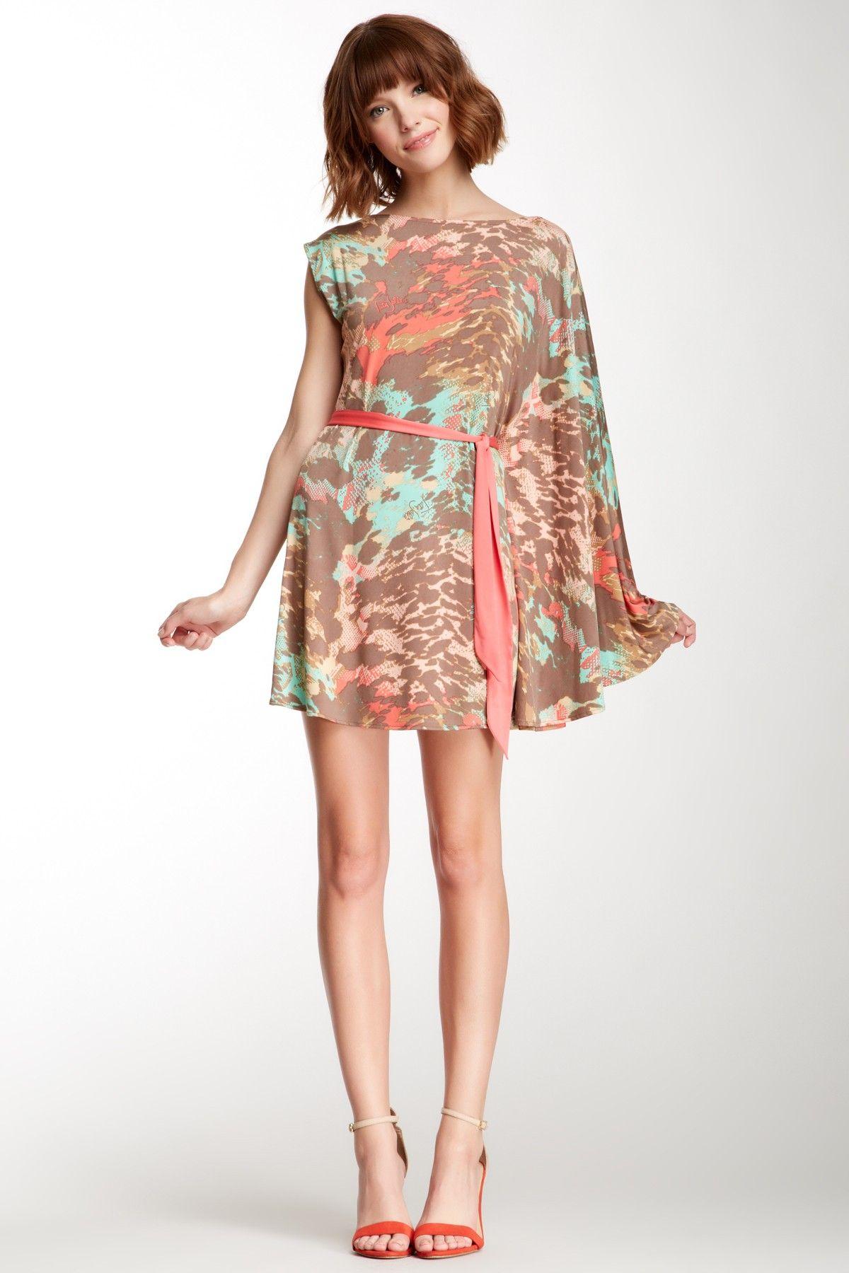 Tata jolie paola one big sleeve dress dresses pinterest