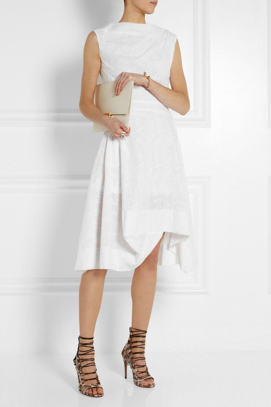 Vivienne Westwood Anglomania Aztec Embroidered Cotton Dress Net A Porter Com Cotton Dresses Fashion Vivienne Westwood Anglomania [ 1380 x 920 Pixel ]