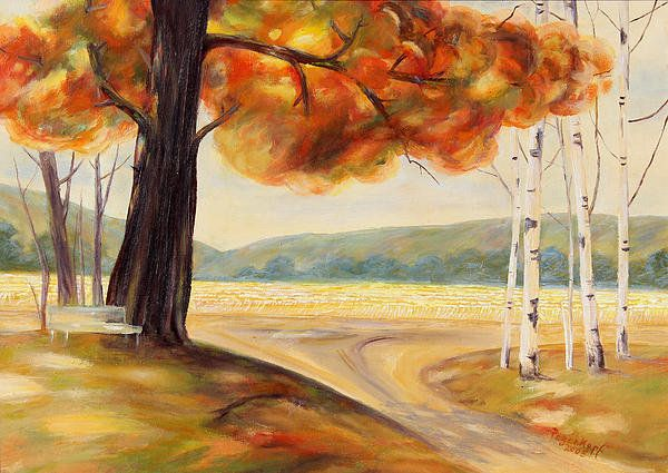 Autumn Poster By Monika Pagenkopf
